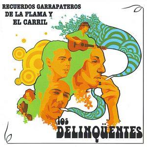portada del disco Recuerdos Garrapateros de la Flama y el Carril