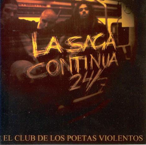portada del disco La Saga Continúa 24/7