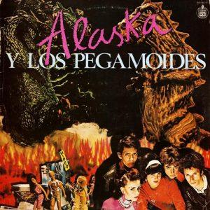 portada del disco Alaska y los Pegamoides