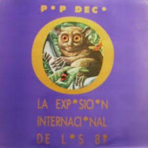 portada del disco La Exposición Internacional de los 80