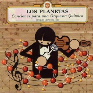 portada del disco Canciones Para una Orquesta Química - Singles y Eps 1993 - 1999