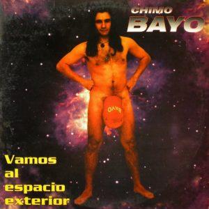 portada del disco Vamos al Espacio Exterior