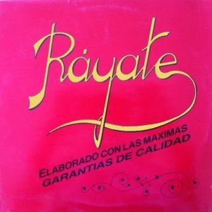 portada del disco Ráyate