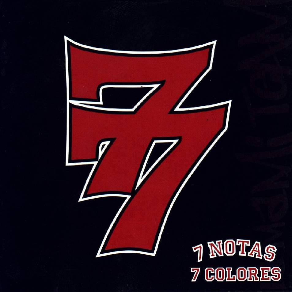 portada del disco 77
