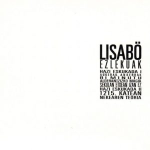 portada del album Ezlekuak