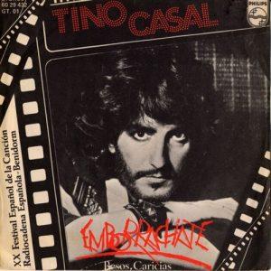 portada del disco Emborráchate / Besos, Caricias