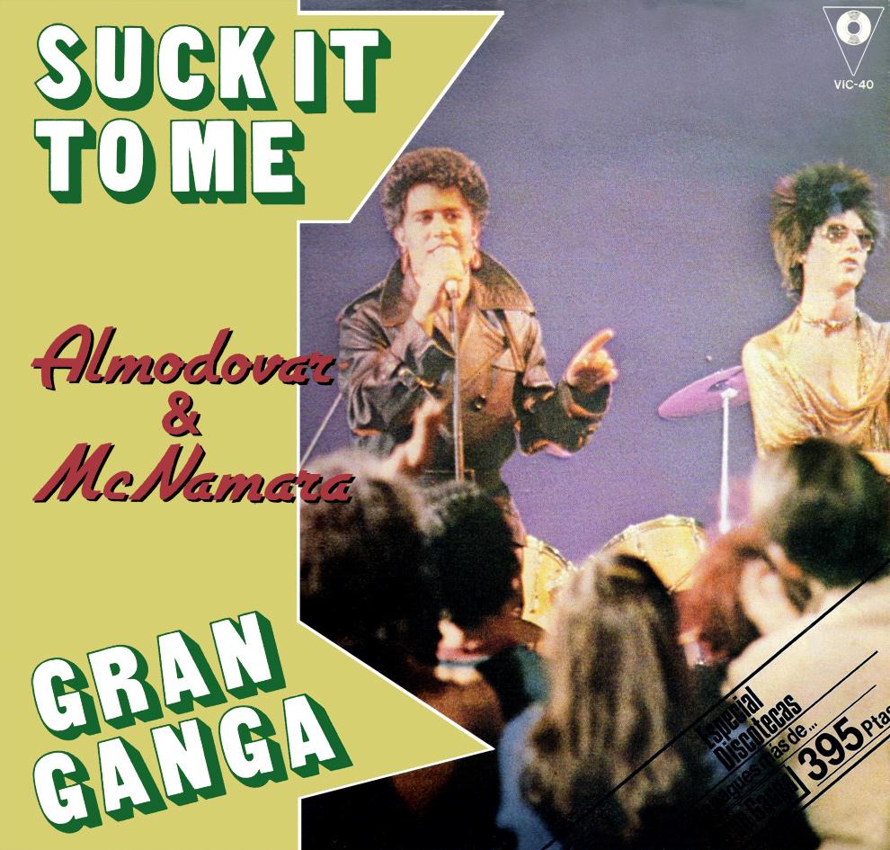 portada del disco Suck it to me / Gran Ganga