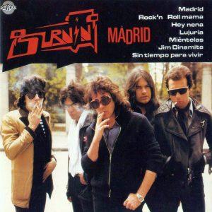 portada del disco Madrid
