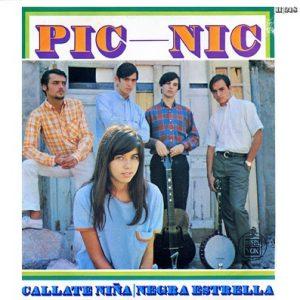 portada del disco Cállate, Niña / Negra Estrella