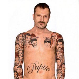 portada del disco Papito