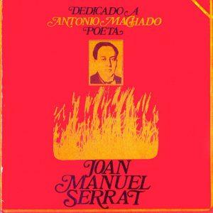 portada del disco Dedicado a Antonio Machado, Poeta