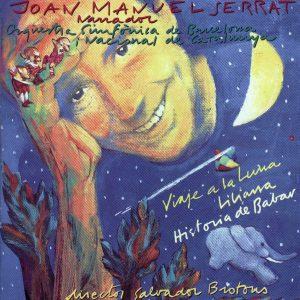 portada del disco Liliana, Historia de Babar y Viaje a la Luna