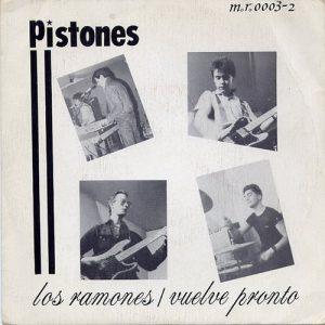 portada del disco Los Ramones
