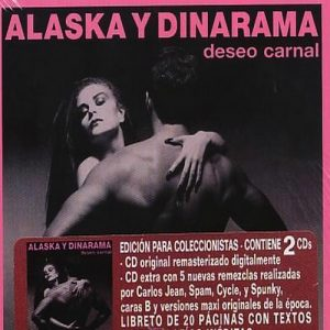 portada del disco Deseo Carnal (edición para coleccionistas)