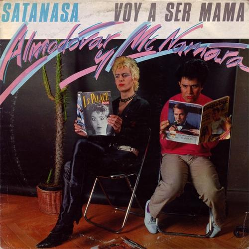 portada del disco Satana S.A. / Voy a ser Mamá