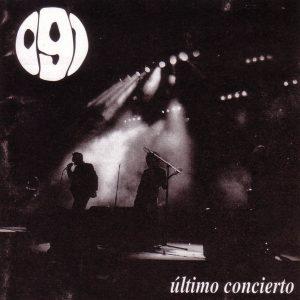 portada del disco Último Concierto