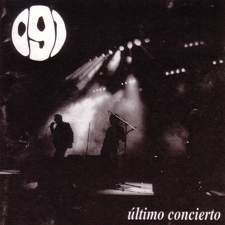 portada del album Último Concierto