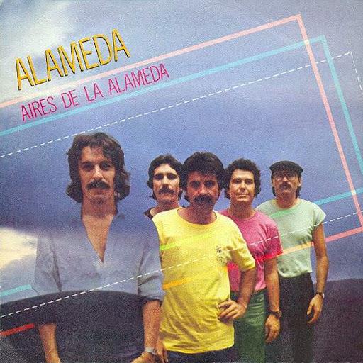 portada del disco Aires de la Alameda