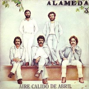 portada del disco Aire Cálido de Abril