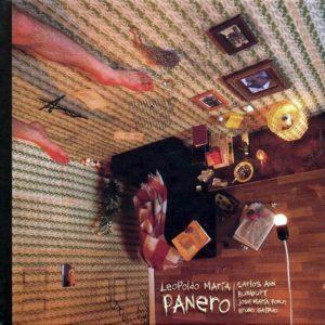 portada del disco Panero: Bunbury, Carlos Ann, Bruno Galindo y José María Ponce
