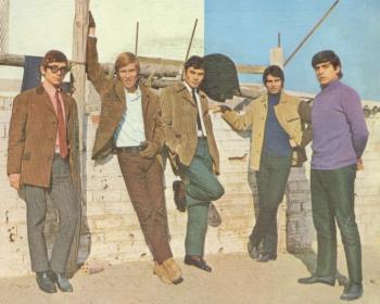 foto del grupo imagen del grupo Los Bravos