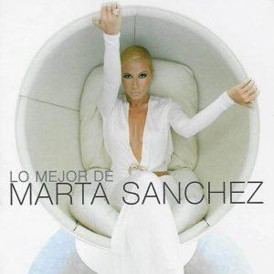 portada del disco Lo Mejor de Marta Sánchez