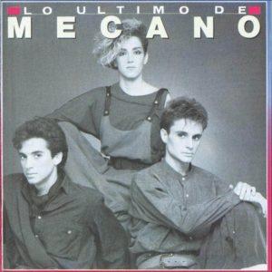 portada del disco Lo Último de Mecano