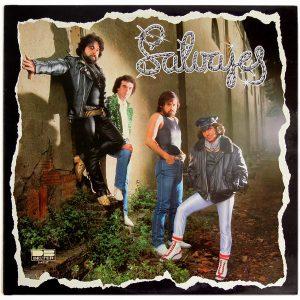 portada del disco Salvajes