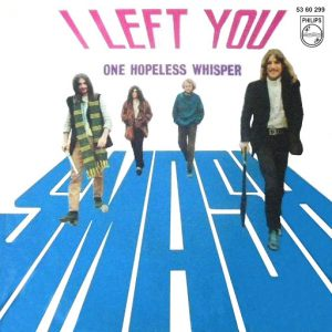 portada del disco I Left You / One Hopeless Whisper