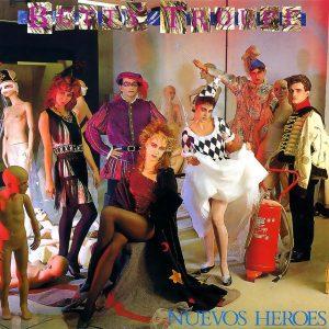 portada del disco Nuevos Héroes