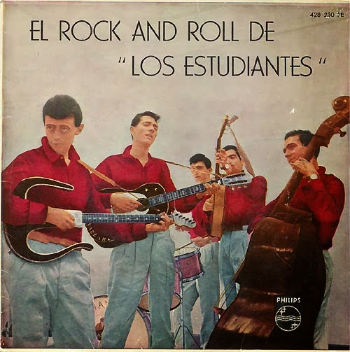 portada del disco El Rock and Roll de Los Estudiantes