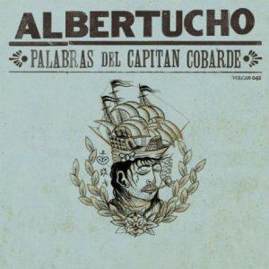 portada del disco Palabras del Capitán Cobarde