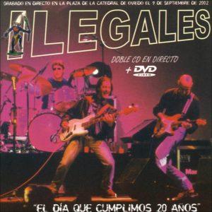 portada del album El Día que Cumplimos 20 Años