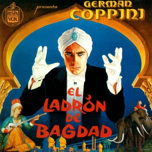 portada del disco El Ladrón de Bagdag