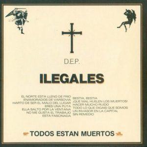 portada del album Todos Están Muertos