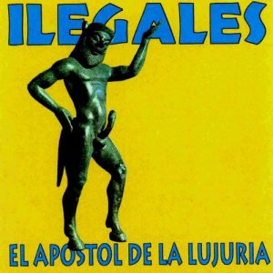 portada del disco El Apóstol de la Lujuria