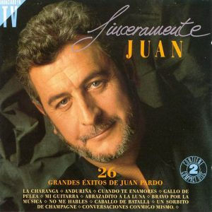 portada del disco Sinceramente Juan