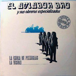 portada del album La Chica de Plexiglás - La Visión