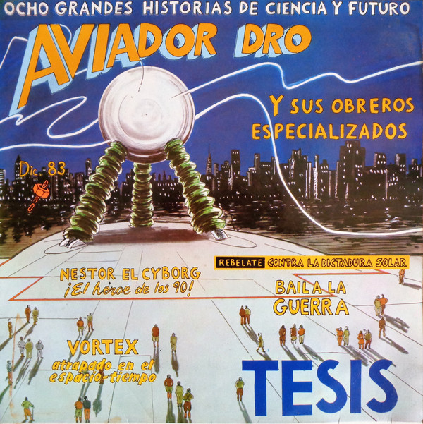 portada del album Tesis