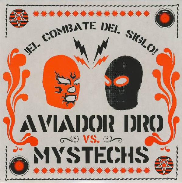 portada del album El Combate del Siglo - Aviador Dro Vs. Mystechs