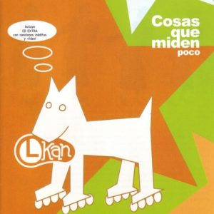 portada del disco Cosas Que Miden Poco (reedición)