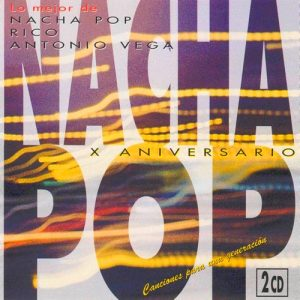 portada del disco X Aniversario