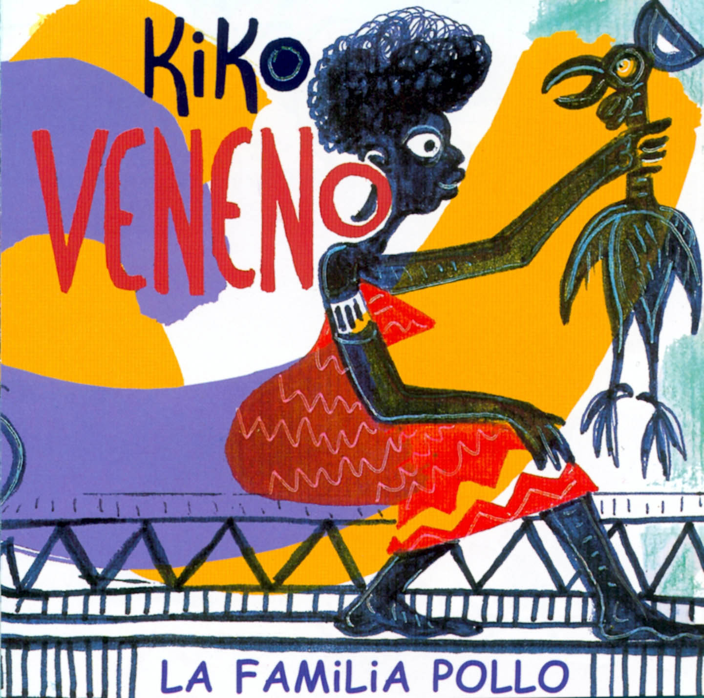 portada del album La Familia Pollo