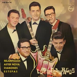 portada del disco Relámpagos / Aster Nova / Diamonds / Estepas