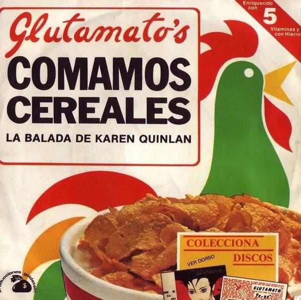 portada del disco Comamos Cereales