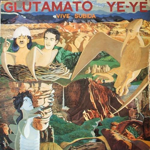 portada del disco Vive Subida