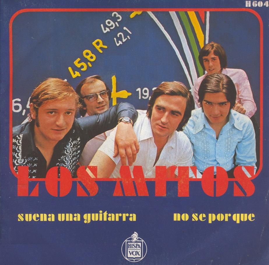 portada del disco Suena una Guitarra / No Sé Por Qué