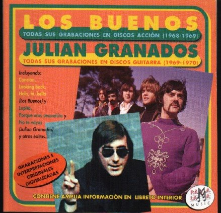portada del disco Los Buenos y Julián Granados. Todas sus grabaciones (1968-1970)