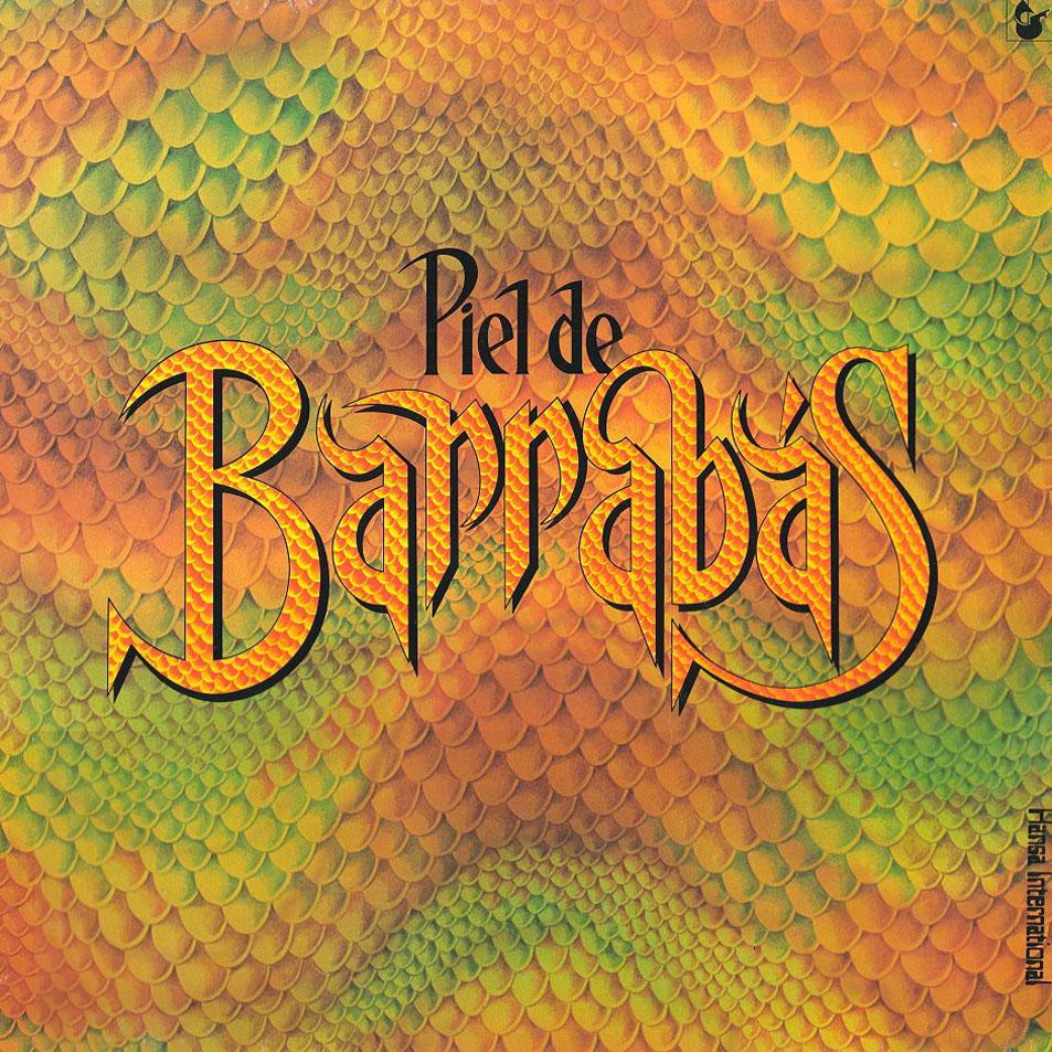 portada del disco Piel de Barrabás