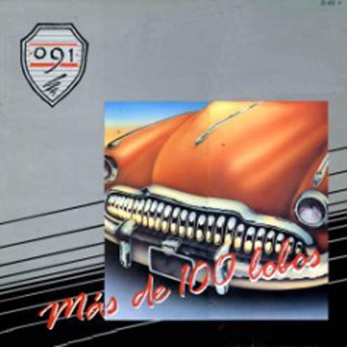 portada del album Más de Cien Lobos